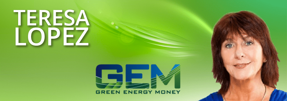 Green Energy Money CEO Teresa Lopez
