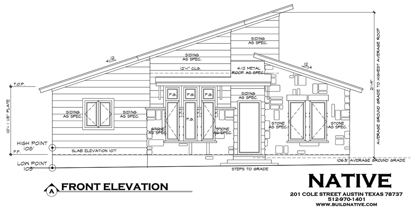 Home Front Elevation Drawings : Cool house tour sunday june self guided